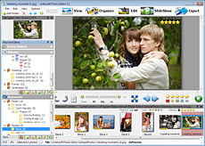 Organize pictures keywords and albums, find photos using capture dates from exif metadata